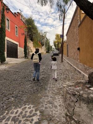 Camino Domingo San Miguel de Allende