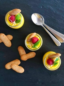 Recette de pudding de mangue de Cook with Lu