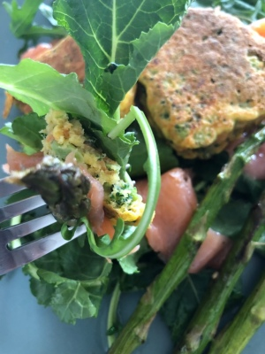 Broccoli fritters